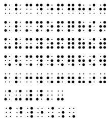 braille scores braille partituren